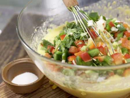 Mais-Paprika-Auflauf: Zubereitungsschritt 7