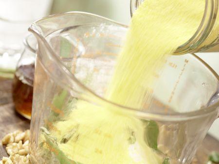 Maisbrot aus der Pfanne: Zubereitungsschritt 2