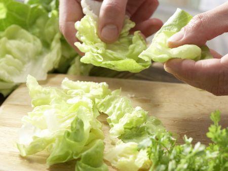 Maischolle: Zubereitungsschritt 1