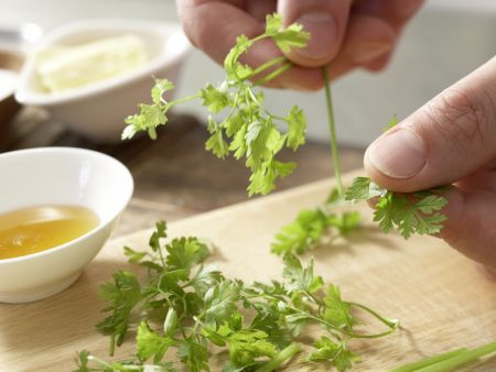 Maischolle: Zubereitungsschritt 2