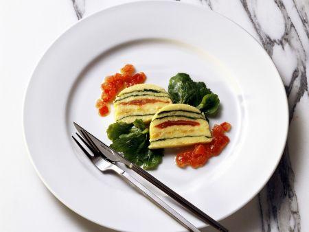 Rezept: Maisterrine mit Tomate