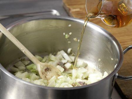 Makkaroni mit Fenchelgemüse: Zubereitungsschritt 6