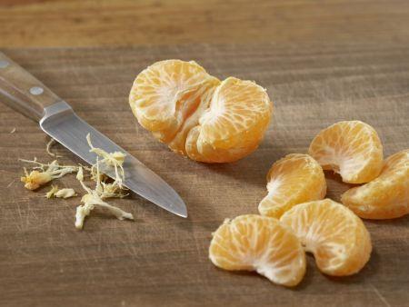 Mandarinen-Aprikosen-Shake: Zubereitungsschritt 1