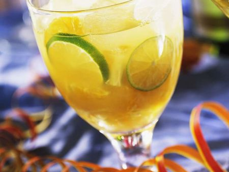 Rezept: Mandarinen-Limetten-Drink