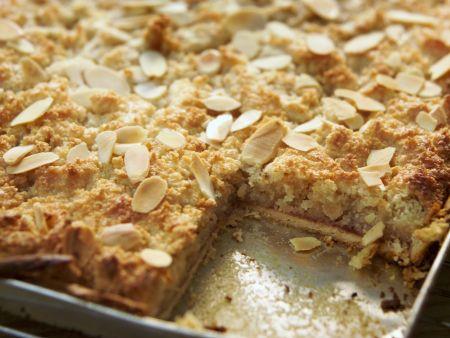 Rezept: Mandel-Blechkuchen