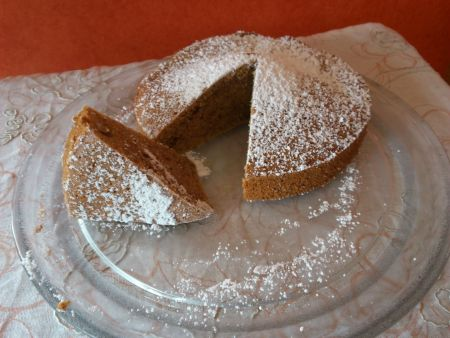 Mandel-Möhren-Kuchen