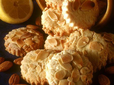 Mandel-Zitronen-Plätzchen