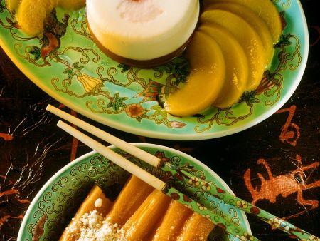 Mandelcreme mit Süßkartoffeln