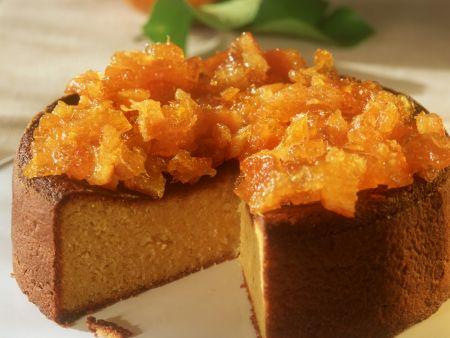 Mandelkuchen mit Orangen