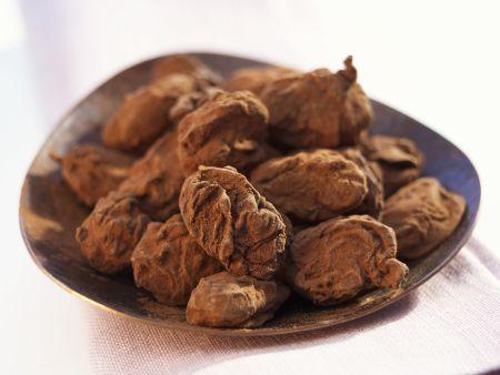 Mandeln in Kakaohülle