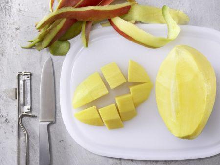Mango-Bananen-Drink: Zubereitungsschritt 2