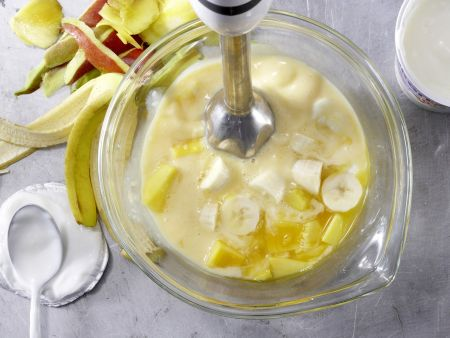 Mango-Bananen-Drink: Zubereitungsschritt 3