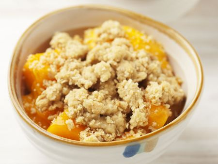 Rezept: Mango-Crumble