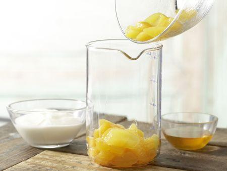 Mango-Joghurt-Mix: Zubereitungsschritt 1