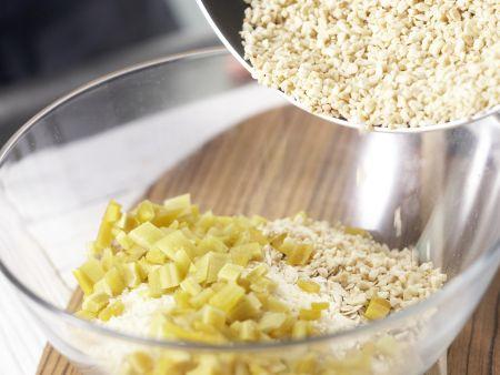 Mango-Mandel-Würfel: Zubereitungsschritt 3