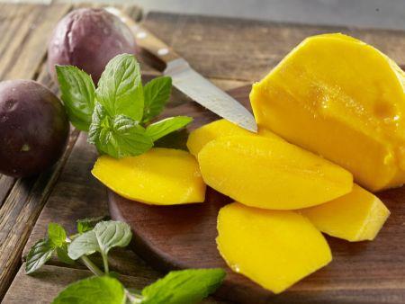 Mango-Maracuja-Creme: Zubereitungsschritt 1