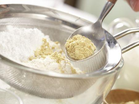 Mango-Mousse-Torte: Zubereitungsschritt 1