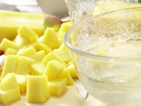 Mango-Mousse-Torte: Zubereitungsschritt 7