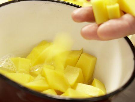 Mango-Mousse-Torte: Zubereitungsschritt 8