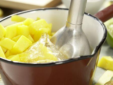 Mango-Mousse-Torte: Zubereitungsschritt 9
