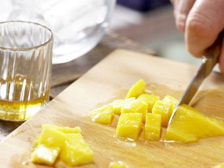 Mango-Smoothie: Zubereitungsschritt 1