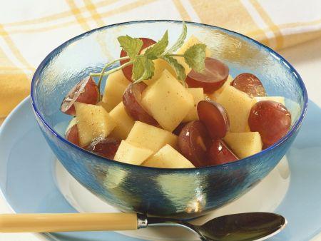 Mango-Traubensalat
