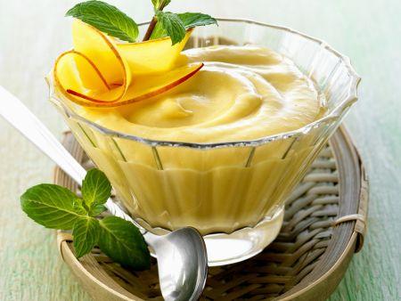 Rezept: Mangocreme auf asiatische Art