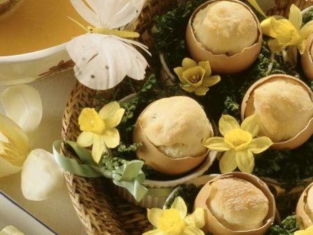 Mangold-Eier