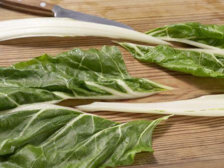 Mangold-Möhren-Gemüse: Zubereitungsschritt 2