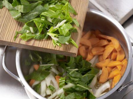 Mangold-Möhren-Gemüse: Zubereitungsschritt 4