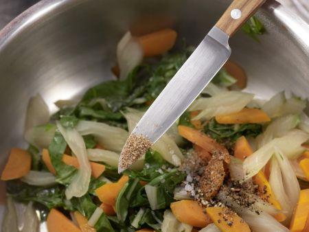 Mangold-Möhren-Gemüse: Zubereitungsschritt 7