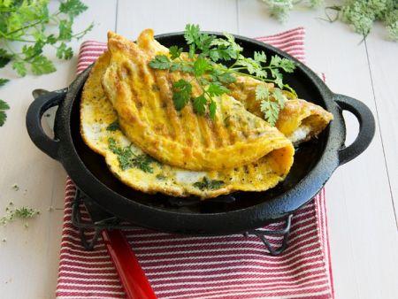Mangold-Omelette