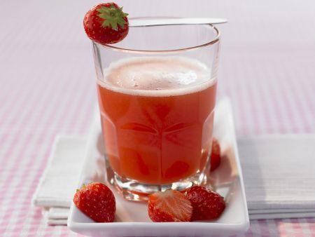 Maracuja-Erdbeer-Saft