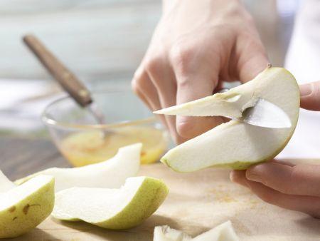 Marinierte Chili-Birnen: Zubereitungsschritt 3