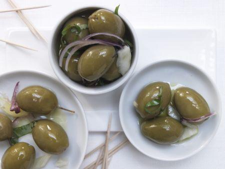 Marinierte Fenchel-Oliven