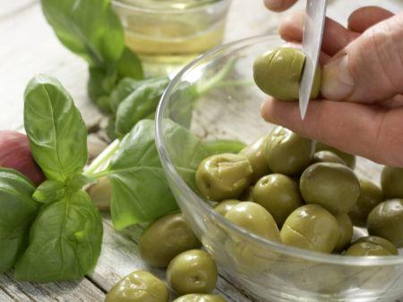 Marinierte Fenchel-Oliven: Zubereitungsschritt 2