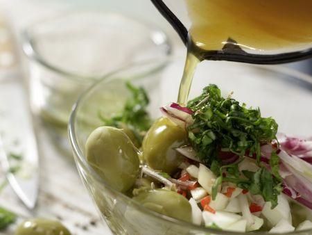 Marinierte Fenchel-Oliven: Zubereitungsschritt 7