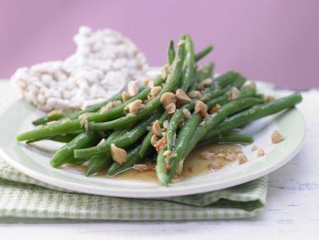 Marinierte grüne Bohnen
