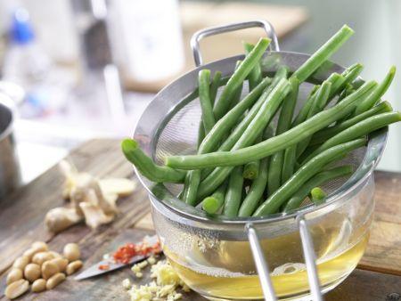 Marinierte grüne Bohnen: Zubereitungsschritt 4