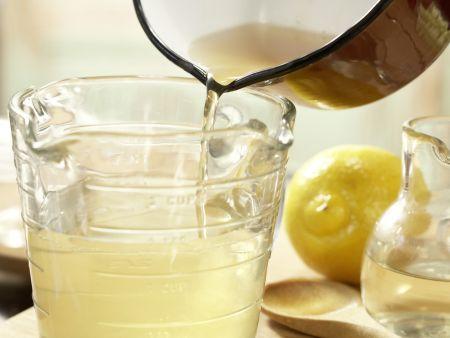 Marinierte Melonenkugeln: Zubereitungsschritt 2