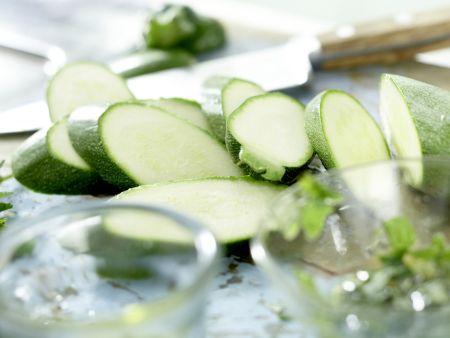 Marinierte Zucchini: Zubereitungsschritt 5