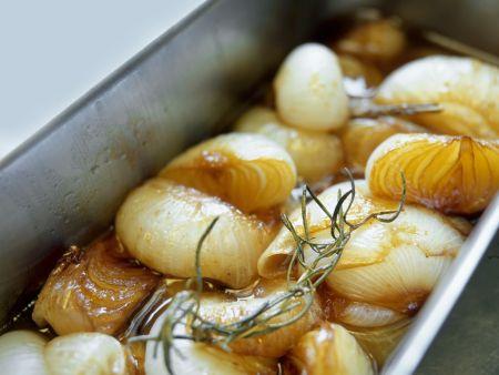 Marinierte Zwiebel auf italienische Art