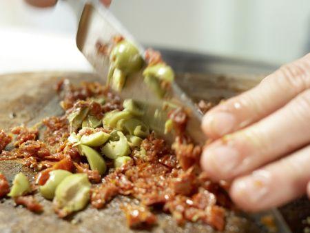 Marinierter Mozzarella: Zubereitungsschritt 1