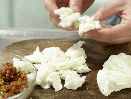 Marinierter Mozzarella: Zubereitungsschritt 4