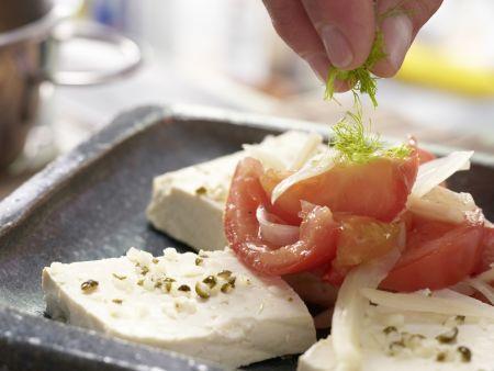 Marinierter Tofu: Zubereitungsschritt 8