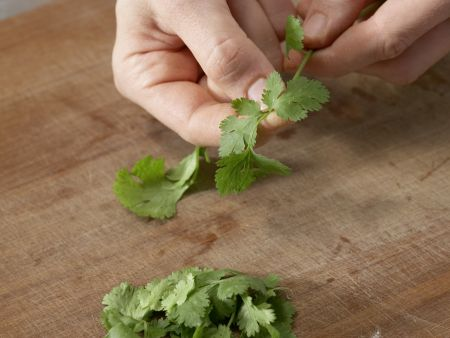 Mariniertes Ingwer-Zucchini-Gemüse: Zubereitungsschritt 7