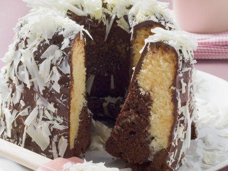 Marmorkuchen mit Schokoladenspänen
