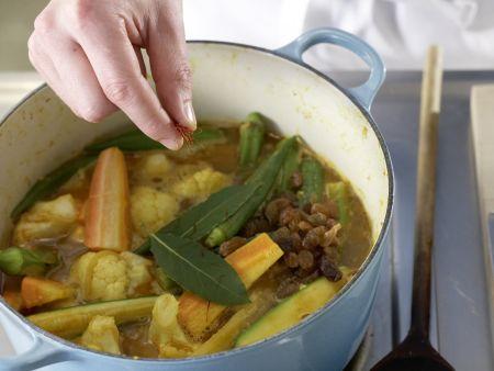 Marokkanischer Gemüsetopf: Zubereitungsschritt 11