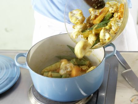 Marokkanischer Gemüsetopf: Zubereitungsschritt 8