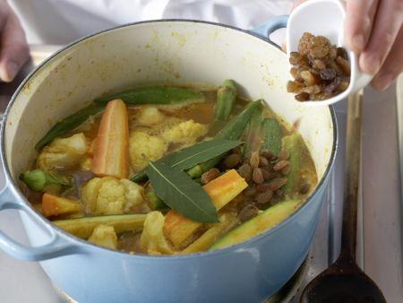 Marokkanischer Gemüsetopf: Zubereitungsschritt 9